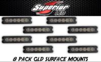 8-Pack GLD-6 TIR 6 Grill Lights