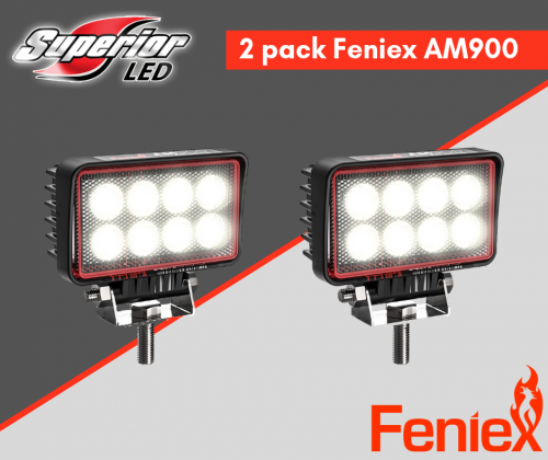 2 Pack AM900 Feniex LED Work Light