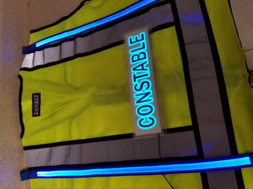 Constable Illuminated Safety Vest With ID Panel