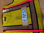 EMS Illuminated Safety Vest With ID Panel