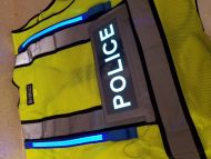 POLICE Illuminated Safety Vest With ID Panel