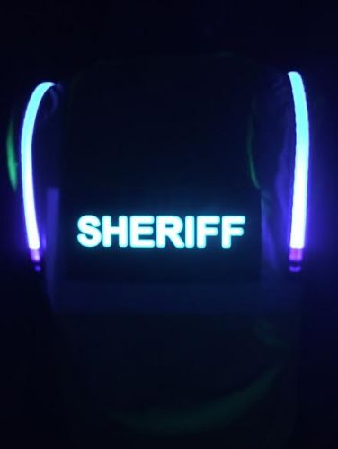SHERIFF Illuminated Safety Vest With ID Panel