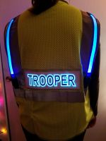 Trooper Illuminated Safety Vest With ID Panel