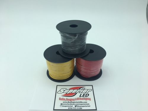 100ft Roll Of 16 Gauge Wire Choose Color