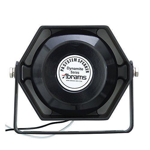 Abrams Ultra Compact 100 Watt High Performance Siren Speaker
