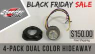 4- Pack Dual Color Hideaways