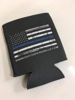 Thin Blue Line Koozie