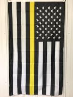 Thin Yellow Line Flag